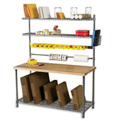 Relius Solutions Lower Shelf Dividers For Packing Station