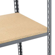 """5/8"""" Particleboard Decking For Edsal And Relius Solutions Shelving - 72X24"""""""