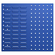 Bott 14025153.11 Steel Toolboard - Combo Perfo/Louvered Panels 20X18