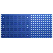 Bott Steel Toolboard - Combo Perfo/Louvered Panels 39X18