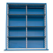 Extra Drawer Dividers For Premium Bench Truck Divider Kits - 8 Compartments