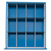 Extra Drawer Dividers For Premium Bench Truck Divider Kits