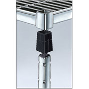 Relius Solutions Shelf Collet For Corrosion-Resistant Square-Post Shelving - Package Of 4