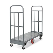"Relius Solutions High-End Platform Trucks - 48""Lx16""W Deck - 13-Gauge Steel Treadplate Deck"
