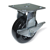 "Fairbanks Casters - Rigid - 6""Dia.X2""W Phenolic Wheel"