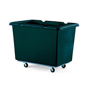 "Recycled Material Handling Carts - Smooth Walls, Plywood Base - 27""Wx39""Dx29""H"