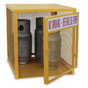 """Relius Solutions Cylinder Storage Cabinet - 30X32X36"""" - 4 Cylinder Capacity - Lp Storage Cabinet"""