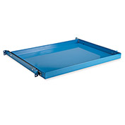 "Pull-Out Shelf For Relius Elite Steel Utility Carts - 32-3/8""Wx18""D - Blue"