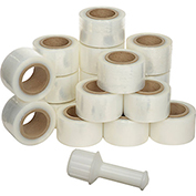 "Banding Stretch Wrap - 3""X650' - 135 Gauge, Cast - Pkg Qty 18"