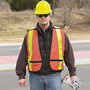 "Canadian Regulation Safety Vest - 18""Lx12""W"