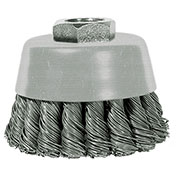 """Century Drill 76021 Angle Grinder Cup Brush 2-3/4"""" Dia. Knot Steel 0.02"""""""