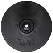 "Century Drill 77150 Backing Pad for Sanding Discs & Polishing Bonnets 1/4"" Arbor 5"""