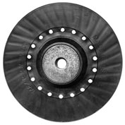Century Drill 77195 - Backing Pad for Resin Fiber Discs - 5/8-11 Arbor - 7""