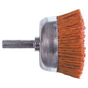"Century Drill 77221 - Cup Brush Nylon Abrasive - Shank 1/4"" - Grit 80 - Coarse - 2"""
