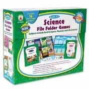 Carson-Dellosa® Grades K-1 Science File Folder Games, 16 Games/Set