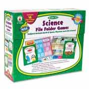 Carson-Dellosa® Grades 2-3 Science File Folder Games, 16 Games/Set