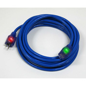 Pro Glo® D17446025 Extension Cord With 25 ft Cord, 12/3 Awg Sz, Blue