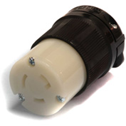 Century® Twistlock Connector NEMA L5-20C, 20A, 125V