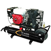 C-AIRE A055P008-G Portable Twin Tank Gas Drive, 5.5 HP, 8 Gal.