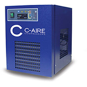 C-AIRE AC CRD-125 1/115 Refrigerated Air Dryer, 125 CFM, 115V, 1PH