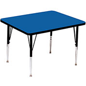"Activity Tables, 36""L x 36""W, Standard Height, Square - Blue"