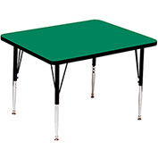 "Activity Tables, 36""L x 36""W, Standard Height, Square - Green"