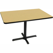 "Correll Restaurant Table - Rectangular - 30"" x 48"" x 29"" - Laminate - Fusion Maple"