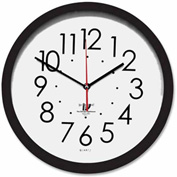 "16-1/2"" Wall Clock, Contemporary SelfSet"