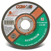 Cgw 4-1/2x.045x7/8 T27 Alu 46n Quickie Cut Reinforced Cutoff Wheel - Pkg Qty 25