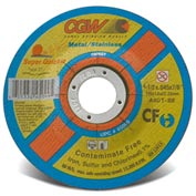 Cgw 4-1/2x.045x7/8 T27 A60t Super Quickie Cut Cf Cutoff Wheel - Pkg Qty 50