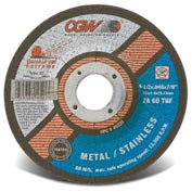Cgw 4-1/2x.045x7/8 T27 Za60t Quickie Cut Extreme Cutoff Wheel - Pkg Qty 50