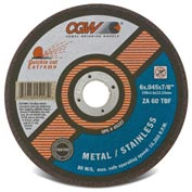 Cgw 5x.045x7/8 T1 Za60t Quickie Cut Extreme Cutoff Wheel - Pkg Qty 50