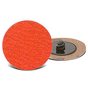 "CGW Abrasives 59925 Quick Change Disc 3"" TR 80 Grit Ceramic - Pkg Qty 25"
