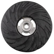 """CGW Abrasives 49514 Air-Cooled Rubber Back-Up Pads 4""""x3/8-24"""""""