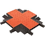Guard Dog® 5 CH 4-Way Cross - Orange Lid/Black Base