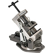 Palmgren 9611405 Industrial Style Angle Vise W/Swivel Base, 4""