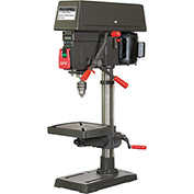 "Palmgren 9680150 - 12"" 16-Speed Bench Step Pulley Drill Press"