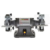 "Palmgren 9682061 Bench Grinder, 6"" Wheel Dia, 1/2HP, 115/230V"