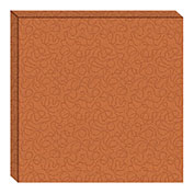 Hush™ Acoustical Wall Tile 15x75x15, 9468.5050 Carrot - Pkg Qty 4