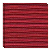 Hush™ Acoustical Wall Tile 15x75x15, 9085.4081 Pomegranate - Pkg Qty 4