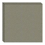 Hush™ Acoustical Wall Tile 15x75x15, 9477.5111 Sage - Pkg Qty 4