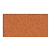 Hush™ Acoustical Wall Tile 30x75x15, 9468.5050 Carrot - Pkg Qty 2
