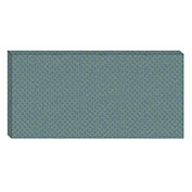Hush™ Acoustical Wall Tile 30x75x15, 9477.5040 Peacock - Pkg Qty 2