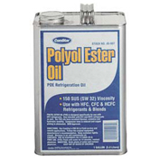 Polyol Ester Refrigeration Oil 1 Gallon 150 Sus