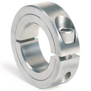 "One-Piece Clamping Collar, 1/4"", Stainless Steel"