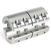 Metric Two-Piece Industry Standard Clamping Couplings, 10mm, Stainless Steel