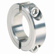 "Corrosion Resistant Two-Piece Clamping Collar CR, 1"", 316 Stainless Steel"