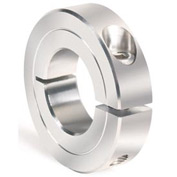 """One-Piece Clamping Collar Recessed Screw, 2"""", Stainless Steel"""