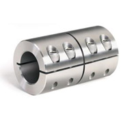 Metric One-Piece Industry Standard Clamping Couplings, 15mm, Stainless Steel