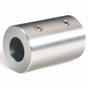 "Set Screw Coupling, 1/2"", Stainless Steel, RC-050-S"